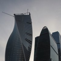 Москва-Сити*-* :: Владимир Питерский
