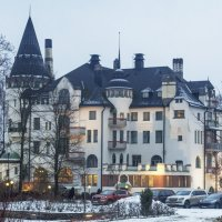 Отель-замокRantasipi Imatran Valtionhotelli.Иматра.Финляндия :: Слава