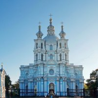 Смольный Воскресения Христова собор :: Владимир Гилясев