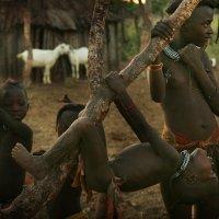 В племени химба. Намибия. :: Алексей Бушов