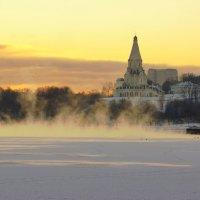 закат.коломенское.зима :: Александр Шурпаков