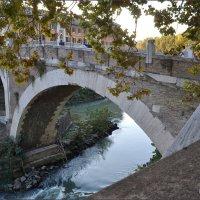 Рим,  мост Фабрицио,  62 век до н.э. :: Lüdmila Bosova