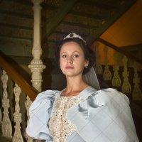 Французское свадебное платье 1890 г., модельер-дизайнер Мария Любимова, г. Воронеж :: Дарья Казбанова