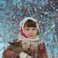 С первым снегом!! :: Наталья Кирсанова
