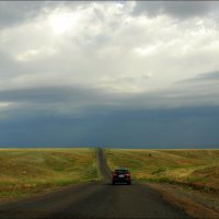Дорога за горизонт... :: Anna Gornostayeva