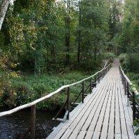 Мост через реку Волчья :: Елена Павлова (Смолова)