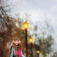 Аллея с фонарями :: Сергей Чирков