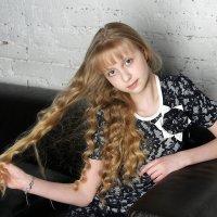 Первая фотосессия юной модели :: Виктория Иванова