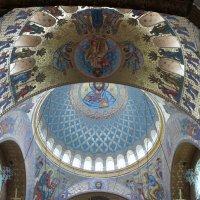 Морской собор святителя Николая Чудотворца. Вид на главный купол и паруса :: Елена Павлова (Смолова)