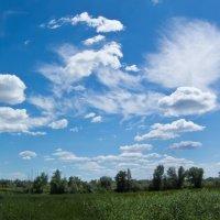 Причудливые облака.. :: Владимир Сквирский