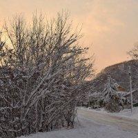 Первый снег :: Mikhail Latukhin