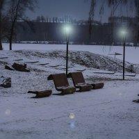 Опустевший парк. :: Владимир Незабываемый