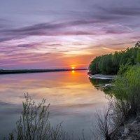 На закате. :: Юрий Бичеров