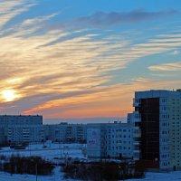 Северодвинск. Облака :: Владимир Шибинский