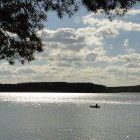Утро на Минском море (Заславское водохранилище) :: Елена Павлова (Смолова)