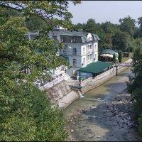 Зелёный театр и река Нальчик. :: Ирина Нафаня
