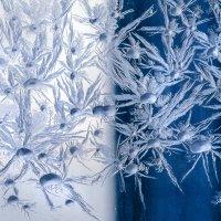 Рисует узоры мороз на оконном стекле :: Алексей Окунеев