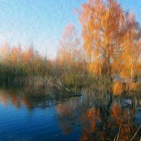 Картина маслом... осень :: LIZA Ильина