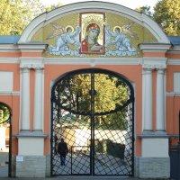 Ворота на входе :: Владимир Гилясев