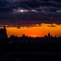 Силуэт Москвы :: Alex Bush