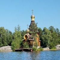 Православный храм Андрея Первозванного на Вуоксе :: Николай