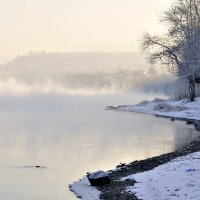 Туман на реке... :: galina tihonova
