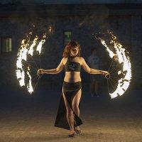Огненный танец. :: Владимир Питерский