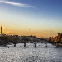 Вечерело у ПарижЭ... :: Александр Вивчарик