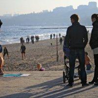 Одесса, пляж, почти зима. :: Игорь Полянский