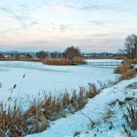Холодная нежность зимнего рассвета :: Лидия Цапко