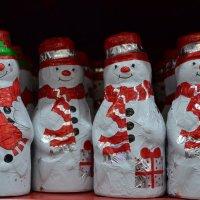 Шоколадные снеговики :: Анфиса
