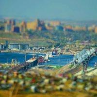 Сергей Мосман - Строительство моста в Красноярске :: Фотоконкурс Epson