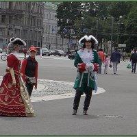 Исторические персонажи на Дворцовой :: Вера