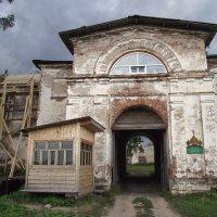 Свято-Александро-Ошевенский мужской монастырь. :: ПК