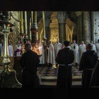 Тамплиеры и монахи-в храме :: Shmual Hava Retro