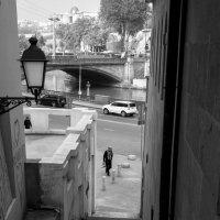 Мост, ступени и фонарь. Всё остальное проходяще. :: Алексей Окунеев