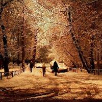 ...Москву засыпало снегом... :: Ира Егорова :)))