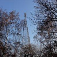 Шуховская телевизионная башня на Шаболовке :: Ирина Семина - IrVik