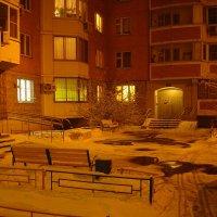 В Москве - снег (Dsc09459) :: Андрей Лукьянов