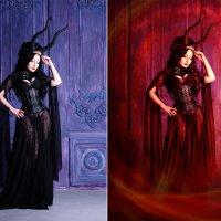 одиночество демона (до и после) :: Veronika G