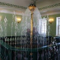«Баня для кавалеров» с восьмигранным бассейном, в котором устроена водяная забава – шар-брызгало :: Елена Павлова (Смолова)