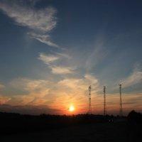 красочный закат :: нестор сидоров