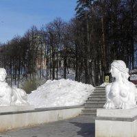 Царицынские сфинксы. :: Oleg4618 Шутченко