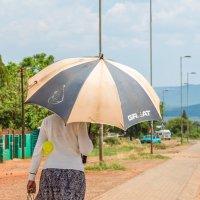 Зонтик по африкански :: Ирина Краснобрижая