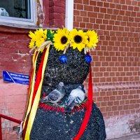 А ведь это снеговик! :: Ольга Маркова