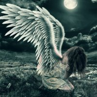 ангел под луной :: Елена