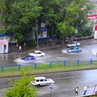 А просто летний дождь прошёл... :: Валерий Кабаков