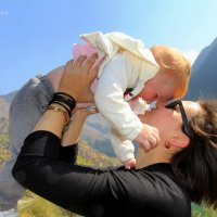 Моя доченька! :: Anna Gornostayeva