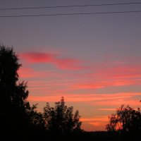 оранжевый закат :: вера Верхозина