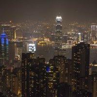 Ночной Гонконг :: Dmitriy Sagurov